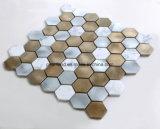 Алюминиевые плитки мозаики каменное Matel кроют плитки черепицей Aashnb2101 стены ванной комнаты Backsplash кухни украшения
