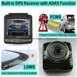 """Coche del GPS de la rociada del coche de la venta caliente 2.4 el """" que rectángulo negro con límite de velocidad de seguimiento del GPS Coodinate de la ruta del GPS recuerda, el coche DVR, de HDMI control de FHD 1080P del estacionamiento del coche hacia fuera vino DVR-2415"""