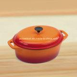トルコの煮込むことのためのカラーエナメルの鋳鉄のカセロールの調理器具