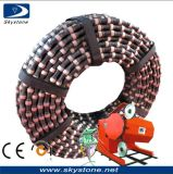 Granite Diamond Wire Saw voor Quarry Cutting