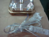 Lâmpada de tabela de bronze de cristal (TL1630)