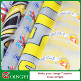 Qing Yi Cold Peeling White White Mylar Pet Film pour Sticker