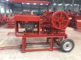 Trituradora de quijada del motor diesel de Huahong, precio de la trituradora de quijada