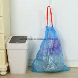 Große Kapazitäts-Unterhaltsauberer Plastikdrawstring-Abfall-Beutel
