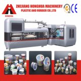 Máquina de impresión en offset automática de 6 colores para los tazones de fuente plásticos (CP670)