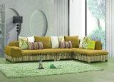 Sofà di cuoio reale utilizzato casa di vendita caldo per il salone (UL-NS366)
