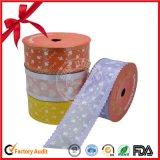 Rodillo iridiscente plástico colorido de la cinta de Maunfacture, cinta plástica Rolls