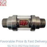 Indicador de cristal visual de la corriente del cilindro con la rotación de Van