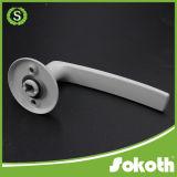 Traitement de porte russe d'alliage d'aluminium du marché pour la chambre à coucher