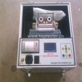 Verificador portátil da força dieléctrica do petróleo do transformador do óleo isolante (Iij-II-100)