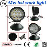 トラックのためのベストセラーの円形42W LED自動作業ランプ