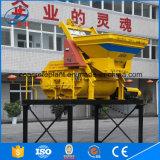 Mezclador concreto potable de la productividad Js500 de la fuente de la fábrica alto