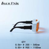 Bescherming 532nm van de laser & 1064nmfor 2 Lijn YAG en de Beschermende brillen van de Laser Ktp/de Beschermende brillen van de Veiligheid van de Laser voor Arts