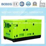 молчком тепловозный генератор 45kVA приведенный в действие Weichai Двигателем