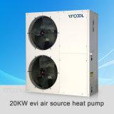 Pompa termica di Evi per il riscaldamento, il raffreddamento e l'acqua calda per uso domestico
