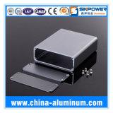 O alumínio anodizado preto feito sob encomenda expulsou cercos eletrônicos de China