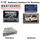 Androider GPS-Navigationsanlage-videoschnittstellen-Kasten für Opel, Buick Regal, Lacrosse, Enklave, Noten-Navigation Chevrolet-Malibu (STICHWORT-SYSTEM), WiFi, BT, Mirrorlink