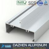 Perfil T5 de alumínio da extrusão 6063 para a porta do indicador