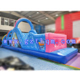 Bounce Jumping et Water Slide Piste gonflable obstacle gonflable / Commercial Giant Inflatable Obstacle Course