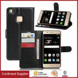 Portafoglio in pelle Premium flip cassa di libro per Huawei P9 Lite