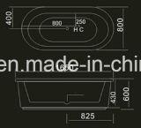 1650mm de Moderne Badkuip van de Ellips (bij-9061-1)