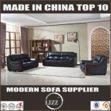 Divan moderne de cuir de salle de séjour de meubles populaires