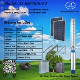насос 9.2kw 6inch солнечный, Borehole наилучшим образом, насосная система нержавеющей стали
