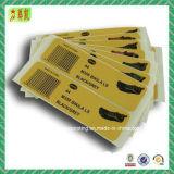 Kundenspezifischer selbstklebender Papieraufkleber/Kennsatz/Barcode