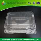Ясные пластмасовые контейнеры для печений