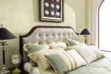 Moderner Hauptbett-Raum-Möbel-König Size Leather Soft Bed