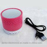 Mini haut-parleur portatif de vente chaud de DEL avec le logo estampé (572)