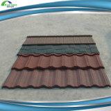 Telha de telhado de metal revestido de pedra de estilo espanhol