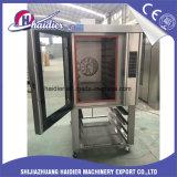 Forno rotativo di cottura di convezione dell'alogeno elettrico della macchina dell'alimento della strumentazione del forno