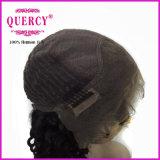 Peluca vendedora caliente del cordón de la onda de Colied del pelo humano de la Virgen (CW-039b)