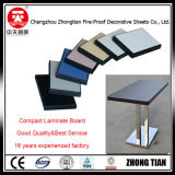コンパクトはテーブルの上HPLの積層物を薄板にする