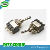 Interruptor de alavanca da posição de alavanca pequena do interruptor 3