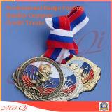 Médaille de souvenir avec la bande