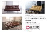 Futon спать складывая софу стула одиночного места Cum кровать для стационара