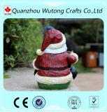 Изготовленный на заказ Handmade Figurine Reisn Santa Claus украшения сада
