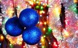 2017 цветастых крытых украшений рождества шарика для рождественской елки