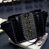 Les dames de sacs à main de mode de créateur ont clouté le prix usine de sac d'emballage Sy7968