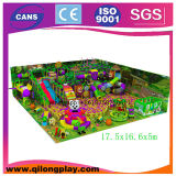 Unser Ausstellungsraum-Beispielinnenspiel strukturiert Kind-Innenspielplatz