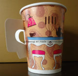 taza de papel disponible 9oz con el surtidor de la maneta