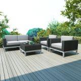 고품질 PE 등나무 옥외 안뜰 의자