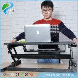 Do computador barato médio do preto do tamanho de Jeo Ld02 A2 mesa ajustável da altura
