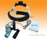 外科再充電可能なLEDヘッド軽いルーペ歯科器械