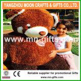 5 pés de urso gigante da peluche da panda vermelha feita sob encomenda do luxuoso