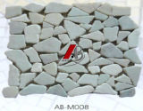 De Tegel van het mozaïek die van Natuurlijk Kwartsiet wordt gemaakt