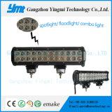 IP68 lámpara de conducción de 13,5 pulgadas de luz LED de trabajo blanco barra de luz