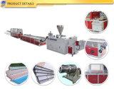 Belüftung-Rand-Streifenbildungs-Profil-Blatt-Plastikprodukt-Extruder, der Maschinerie herstellt